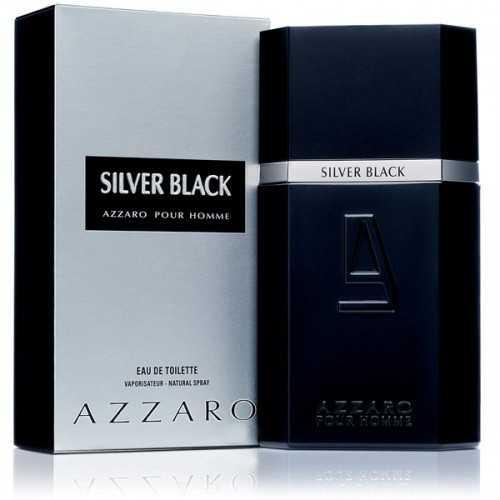 Silver Black Pour Homme