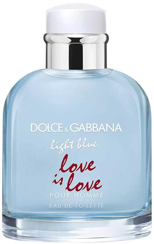 Light Blue Love Is Love Pour Homme